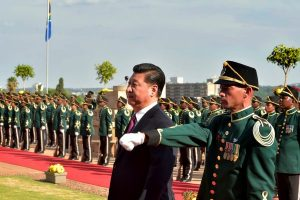 China Promotes its Party Army Model in Africa
