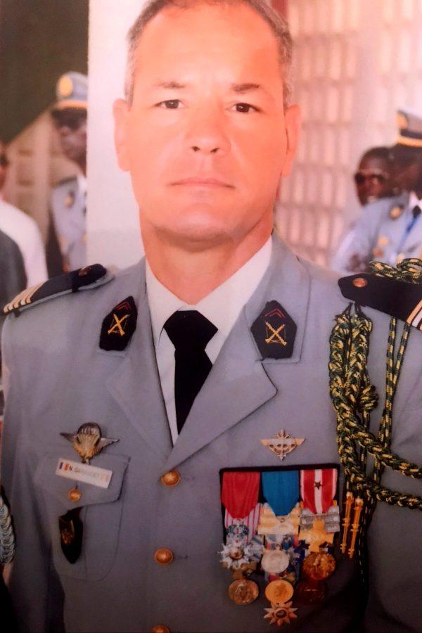 Lieutenant Colonel Nicolas Garaudet