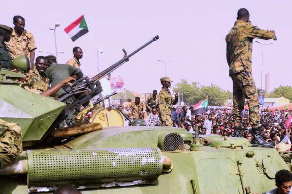 Sudan military in 2019