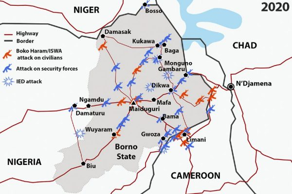 Militant Islamist Group Highway Attacks in and around Borno State