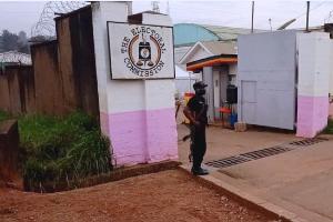 Entrance to Uganda's Electoral Commission