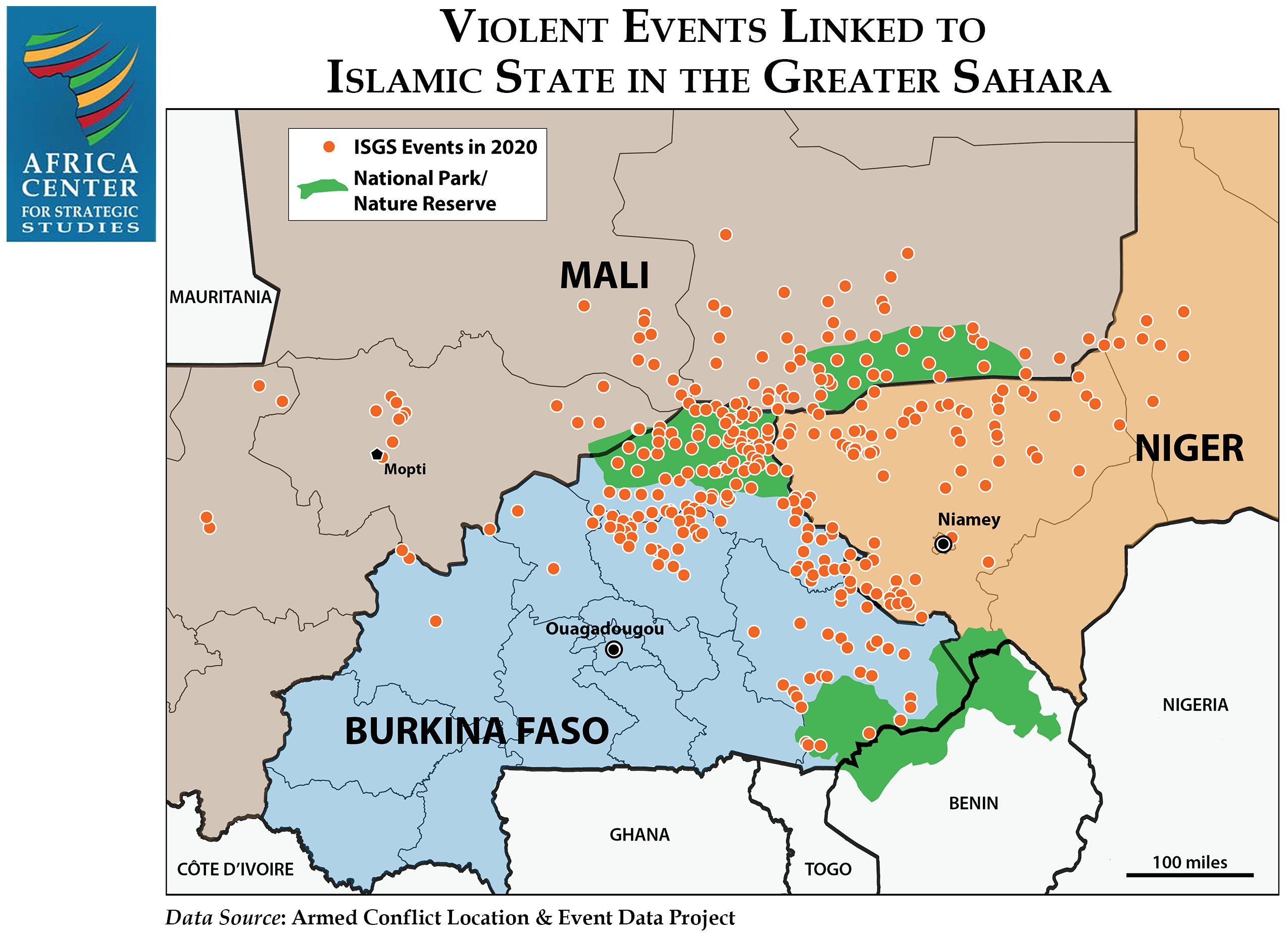 Violent Events Linked to ISGS