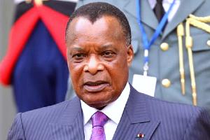 President Denis Sassou-Nguesso.