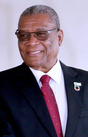 President Evaristo Carvalho