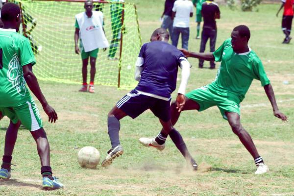 South Sudan Corporate League game