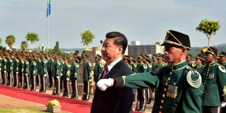 China Promotes Its Party-Army Model in Africa