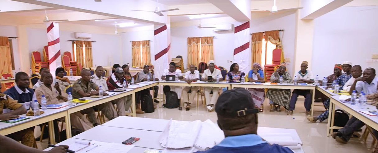 A Justice and Security Dialogue (JSD) in Saaba, Burkina Faso.
