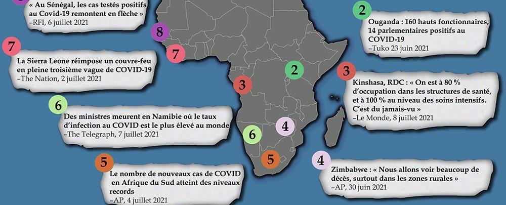 Le variant Delta de la COVID s'enracine en Afrique, avec des conséquences dévastatrices sur le bilan humain