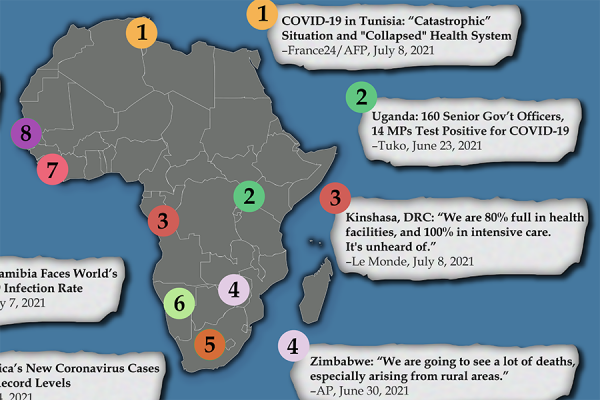 Devastating Human Toll as the Delta COVID Variant Takes Hold in Africa