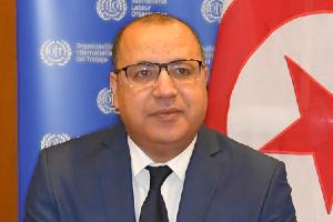Former Prime Minister Hichem Mechichi.