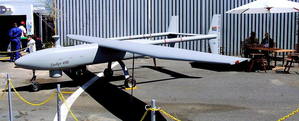 A Denel UAV Seeker 400 drone in South Africa